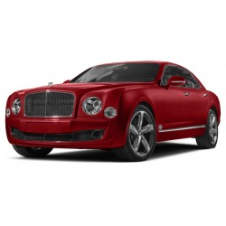 Bentley Mulsanne Speed Rubino Red Over Onyx 2017 Almost Real ALM830103