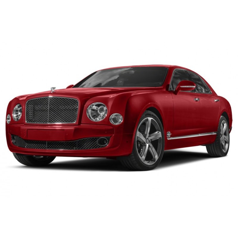 Bentley Mulsanne: Bentley Mulsanne Speed Rubino Red Over Onyx 2017 Almost