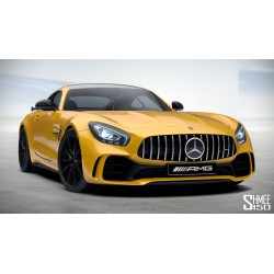 Mercedes AMG GTR Yellow 2017 Almost Real ALM820705