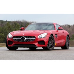 Mercedes AMG GTR Metal Red 2017 Almost Real ALM820704