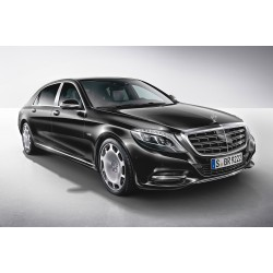 Mercedes Benz S Class Maybach Black 2016 Almost Real ALM820101