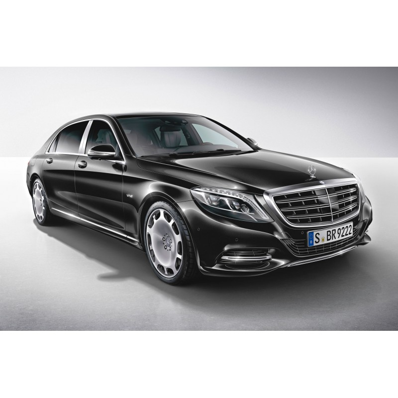 Mercedes benz s class maybach black 2016 almost real for Mercedes benz family discount