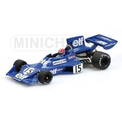 Tyrrell Ford 007 F1 1975 Jean Pierre Jabouille Minichamps 400750015