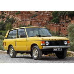 Range Rover Yellow 1970 Almost Real ALM8110103