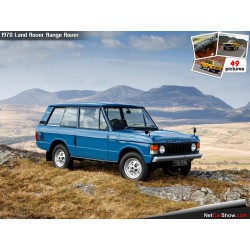 Range Rover Blue 1970 Almost Real ALM810101