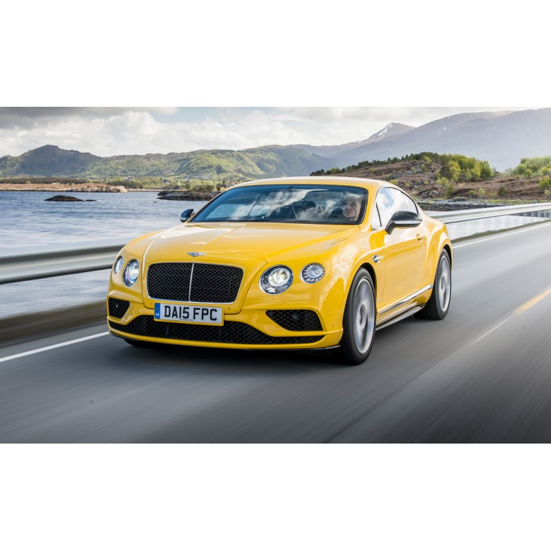 Bentley Continental GT3R Monaco Yellow 2015 Almost Real