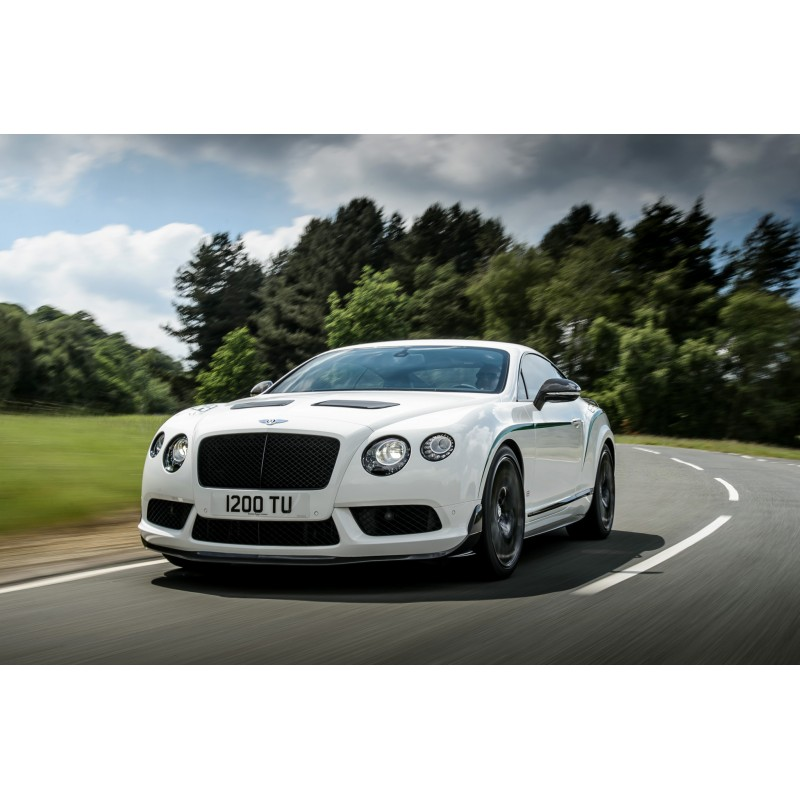 Bentley Continental Gt3 R: Bentley Continental GT3R White 2015 Almost Real ALM430401