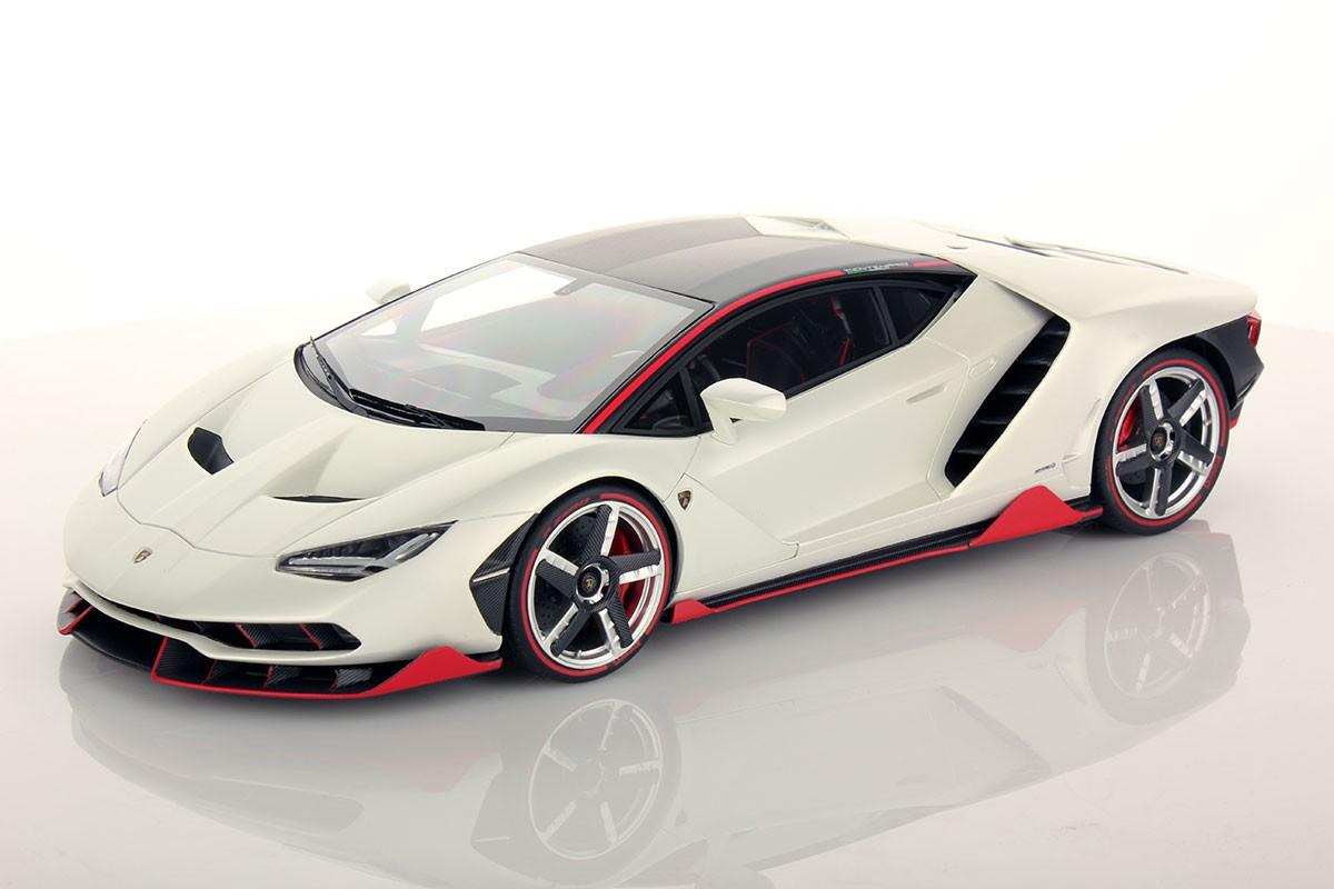 Lamborghini Centenario Roadster Special Editions Bianco Pheme Shiny