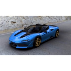 Ferrari J50 Body Color French Racing Blue Shiny Looksmart LS485C