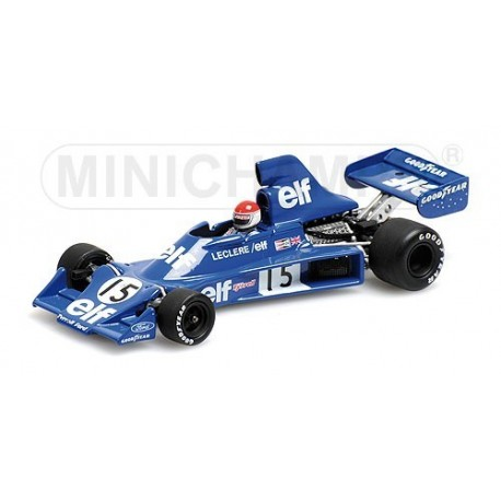 Tyrrell Ford 007 F1 1975 Michel Leclere Minichamps 400750115