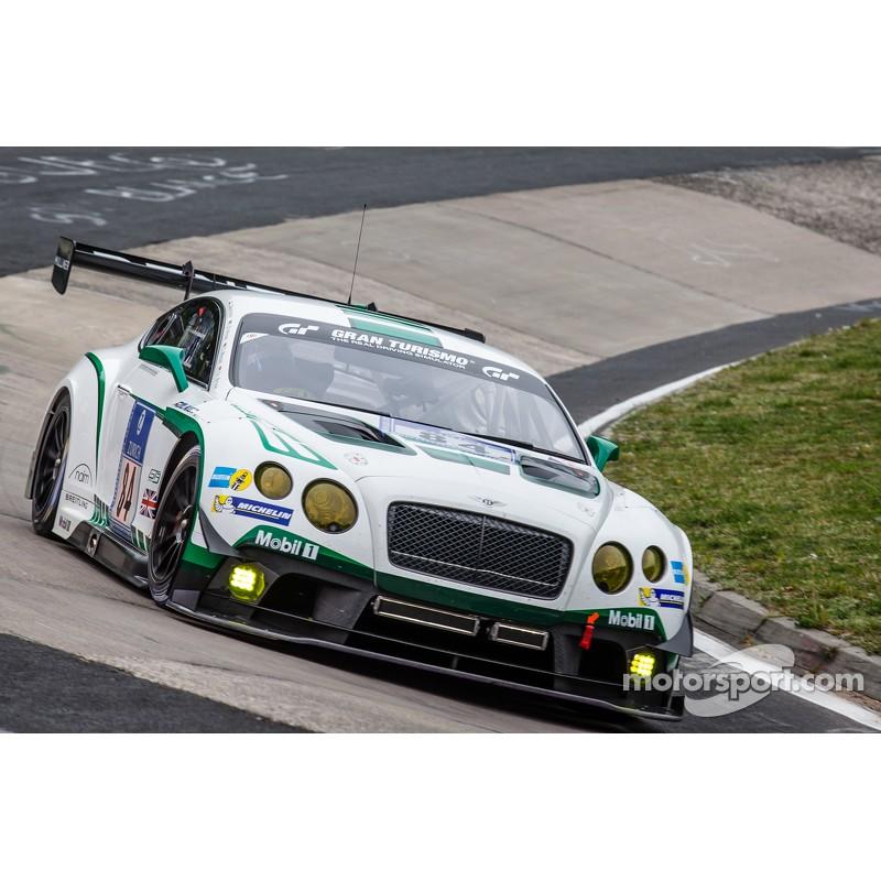 Bentley Continental Gt3 R: Bentley Continental GT3 R 84 24 Heures Du Nurburgring 2015