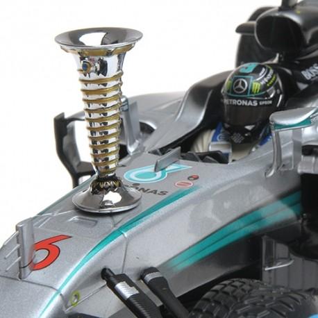 120ef6a54faae Mercedes F1 W07 Hybrid 6 Sindelfingen Demonstration Run World Champion 2016 Nico  Rosberg Minichamps 110161006