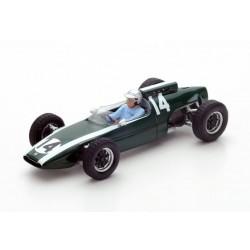 Cooper T60 F1 Monaco 1962 Bruce McLaren Spark S4802