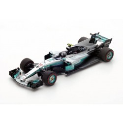 Mercedes AMG Petronas W08 EQ Power+ F1 Bahrain 2017 Valtteri Bottas Spark S5031