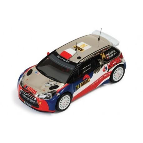 Citroen DS3 74 WRC Allemagne 2013 Kubica Baran IXO RAM539