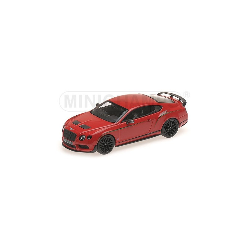 Bentley Continental Gt3 R: Bentley Continental GT3R St James Red China Edition 2015