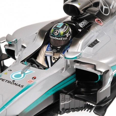 Mercedes W07 Hybrid F1 2016 Nico Rosberg Minichamps 110160006