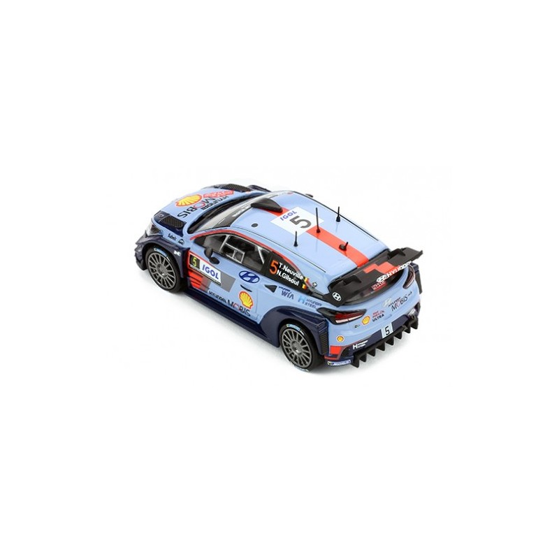 Hyundai I20 Wrc 5 Winner Tour De Corse 2017 Neuville Gilsoul Ixo