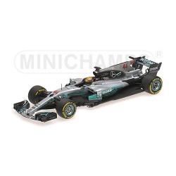 Mercedes AMG Petronas W08 EQ Power+ F1 Australie 2017 Lewis Hamilton Minichamps 410170044