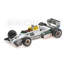 Williams Ford FW08C F1 Test Donington 1983 Ayrton Senna Minichamps 547831801