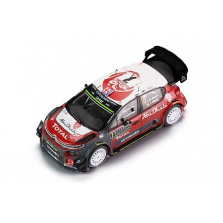 Citroen C3 WRC 7 Rallye Monte Carlo 2017 Meeke Nagle IXO RAM638