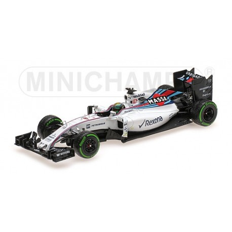 Williams Mercedes FW38 F1 Brésil 2016 Felipe Massa Last race Minichamps 417160119