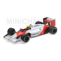 McLaren TAG MP4/3 Test Car 1987 Ayrton Senna Minichamps 547871899