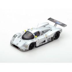 Sauber Mercedes C9 63 Winner 24 Heures du Mans 1989 Spark S43LM89