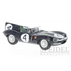 Jaguar D-Type 4 Victoire 24 Heures du Mans 1956 IXO LM1956