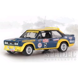 Fiat 131 Abarth 5 Rallye San Remo 1977 Rohrl Pitz IXO RAC266