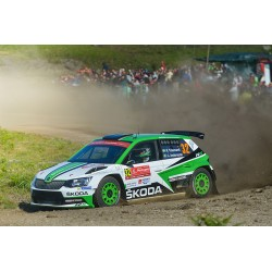 Skoda Fabia R5 32 Rallye du Portugal 2017 Tidemand Andersson IXO RAM657