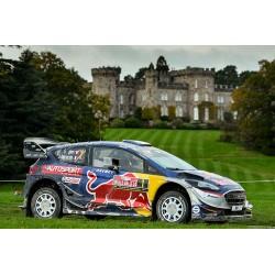 Ford Fiesta WRC 1 Rallye de Grande Bretagne 2017 Ogier Ingrassia IXO RAM655
