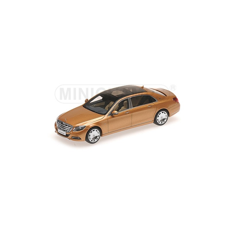 mercedes benz s class maybach gold 2016 almost real alm420104 miniatures minichamps. Black Bedroom Furniture Sets. Home Design Ideas