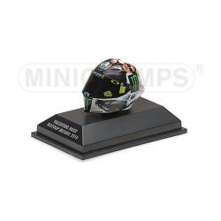 Casque 1/8 AGV Valentino Rossi Moto GP Misano 2016 Minichamps 398160096