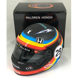 Casque 1/2 Fernando Alonso Indy 500 2017 Bell