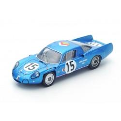 Alpine A211 1000 km de Paris 1967 Bianchi Grandsire Spark SF113