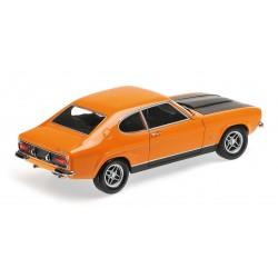 Ford Capri RS 2600 (LHD) Orange et noire 1970 Minichamps 150089077