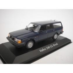 Volvo 240 GL Break Dark Blue 1986 Minichamps 940171412