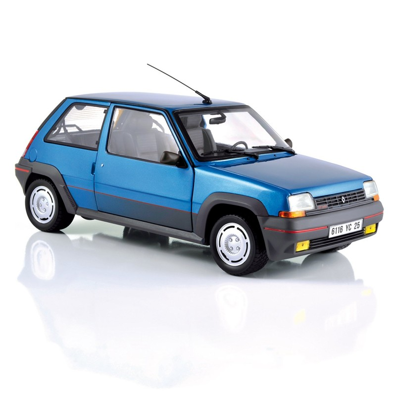 Renault 5 Turbo: Renault 5 GT Turbo Phase 1 Bleue Métal 1986 Norev 185207