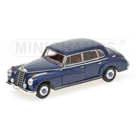 Mercedes-Benz 300 B 1955 Bleue Minichamps 410039000