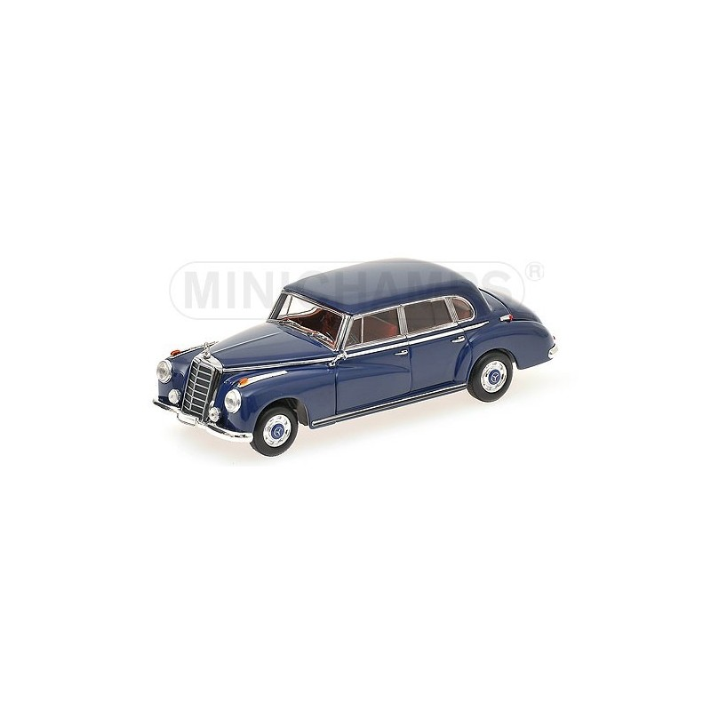 Mercedes benz 300 b 1955 bleue minichamps 410039000 for Mercedes benz loyalty discount
