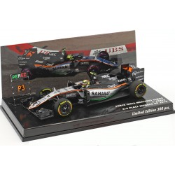 Force India Mercedes VJM09 11 F1 Monaco 2016 Sergio Perez Minichamps 447160111