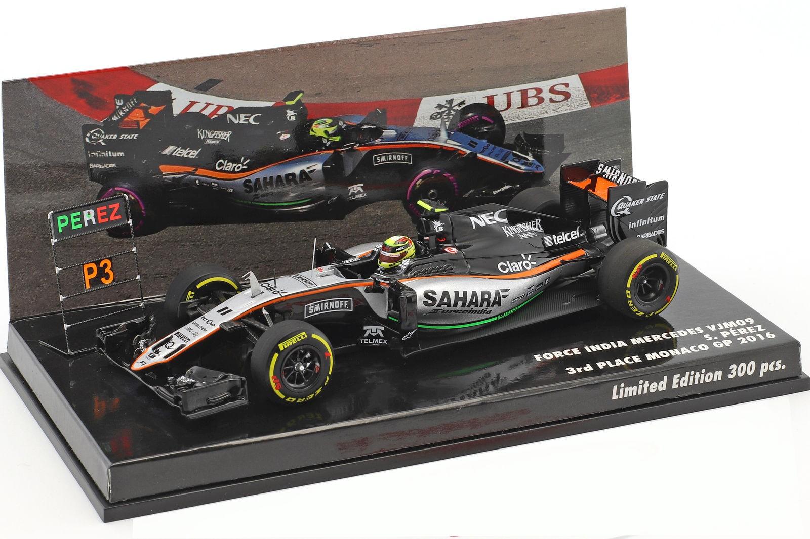Minichamps Formel1 Force India Mercedes VJM03 A.Sutil 2010 1:43 *OVP*