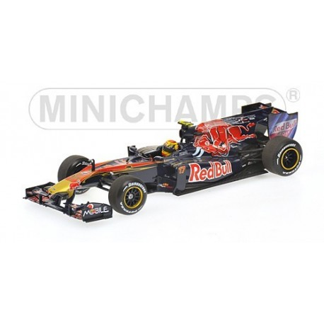 Scuderia Toro Rosso STR5 F1 2010 Jaime Alguersuari Minichamps 410100017