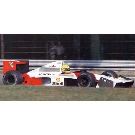 McLaren MP4/5B with elevated nose cone test car 27 F1 Monza 1990 Ayrton Senna Minichamps 547904399