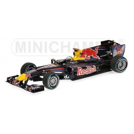 Red Bull Renault RB6 F1 Abu Dhabi 2010 Sebastian Vettel Minichamps 410100105