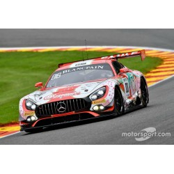 Mercedes AMG GT3 0 Qualifications 24 Heures de Spa Francorchamps 2017 Minichamps 437173000