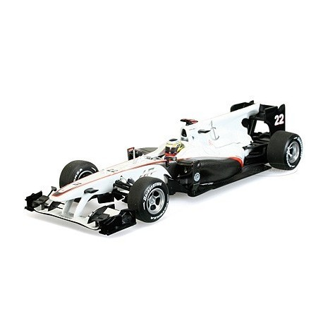 Sauber C29 F1 Allemagne 2010 Pedro De La Rosa Minichamps 410100122
