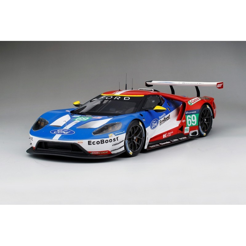 ford gt 69 24 heures du mans 2016 truescale ts0065 miniatures minichamps. Black Bedroom Furniture Sets. Home Design Ideas