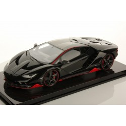 Lamborghini Centenario Nero Aldebaran With Rosso Mars Accents 2016 Looksmart LS1208SE8